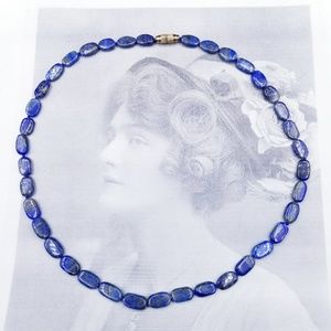 COMING SOON VINTAGE LAPIS NECKLACE